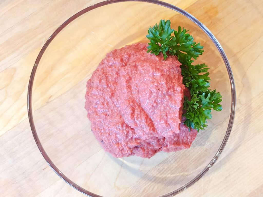 how to make beet hummus