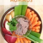 Recipe for Black Bean Hummus