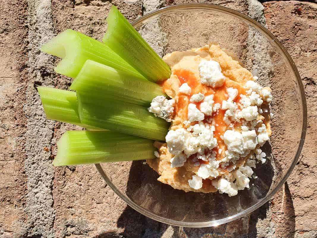 Spicy Buffalo Hummus Recipe