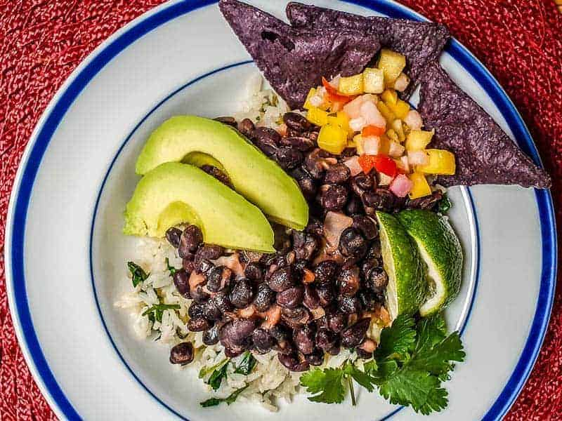 Chipotle Black Bean Recipe With Cilantro Lime Rice