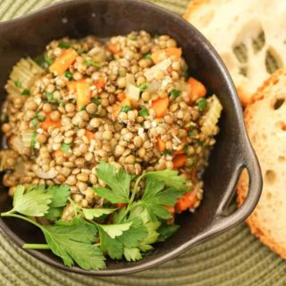 French Style Green Lentils Recipe