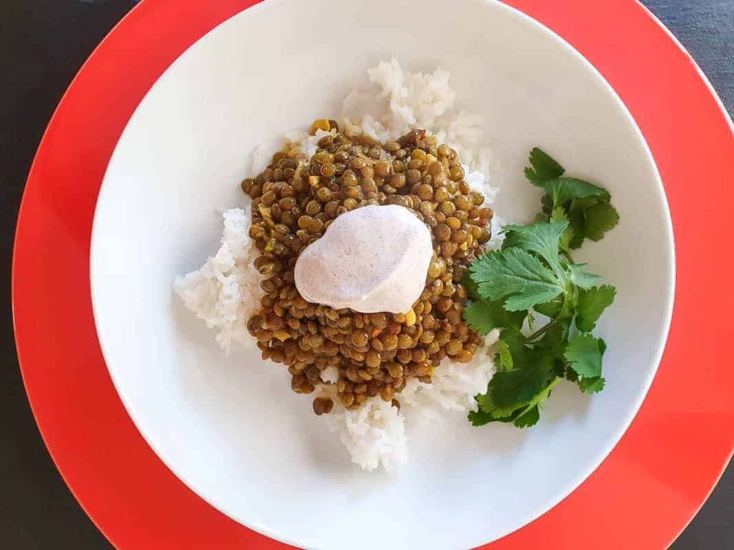 Creamy Indian Green Lentil Dhal Recipe