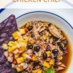 Recipe for Southwestern Chicken Chili