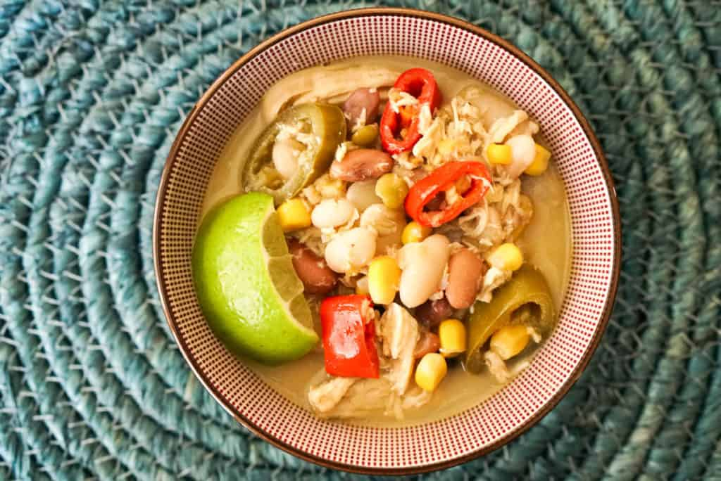 Stovetop 15 Bean Soup With Chicken