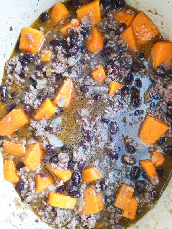 Using chicken broth in chili