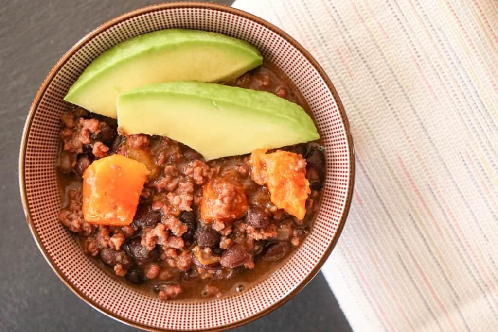 Beef Black Bean And Pumpkin Chili
