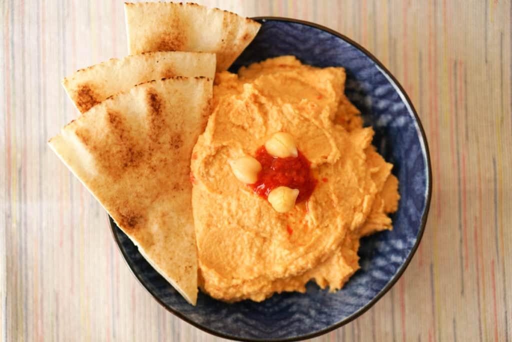 Harissa Hummus Recipe