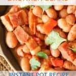 Instant Pot Borracho Beans Recipe - Drunken Beans
