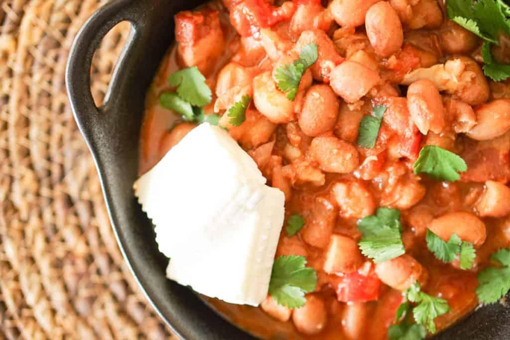 Borracho beans instant pot