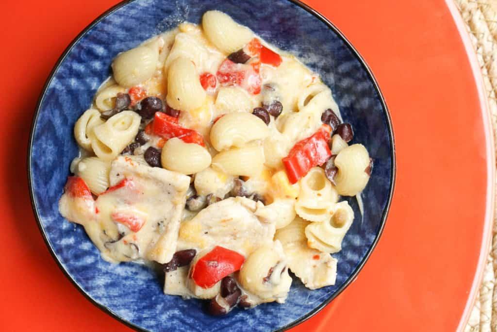 Instant Pot Cajun Chicken Pasta With Black Beans