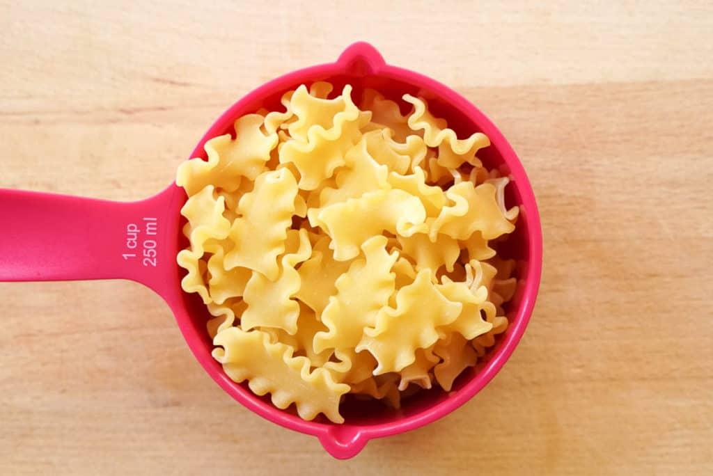 Pasta for noodle soup