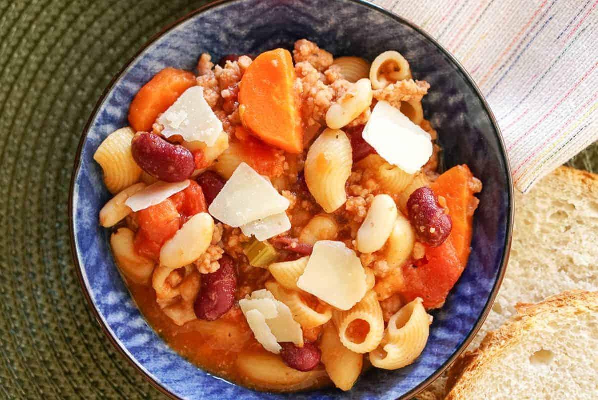 Instant Pot Pasta Fagioli Recipe