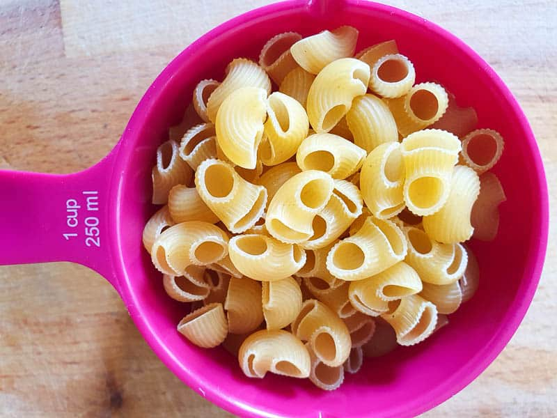 What pasta to use in pasta fagioli