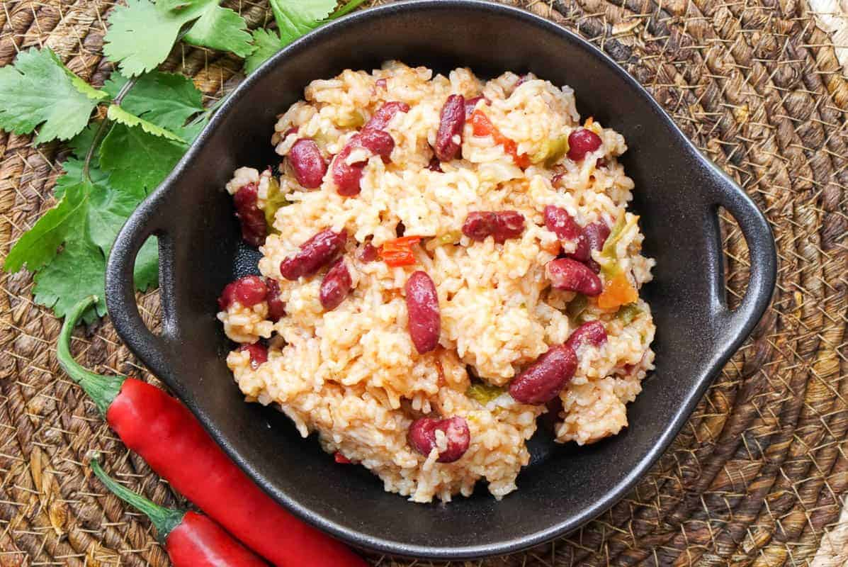 Instant Pot Rice And Beans Recipe