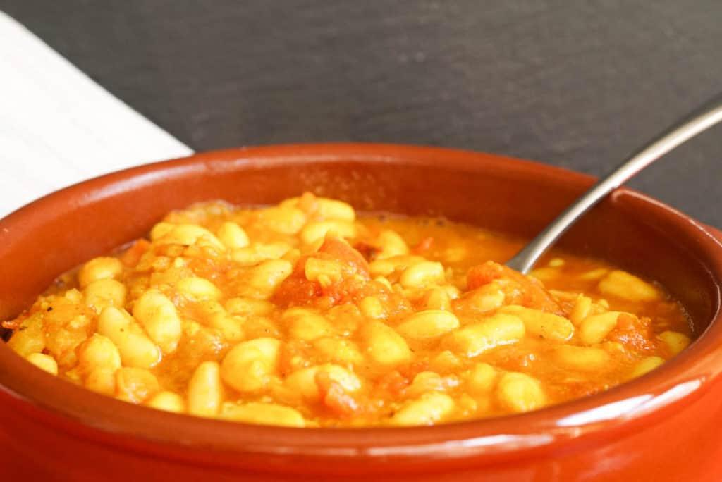 Stewed beans recipe
