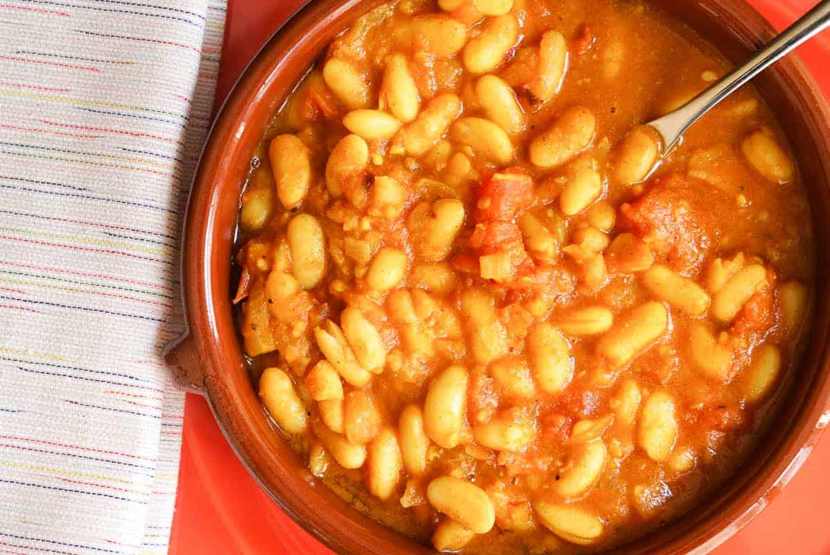 Loubia Recipe - Stewed Moroccan Beans