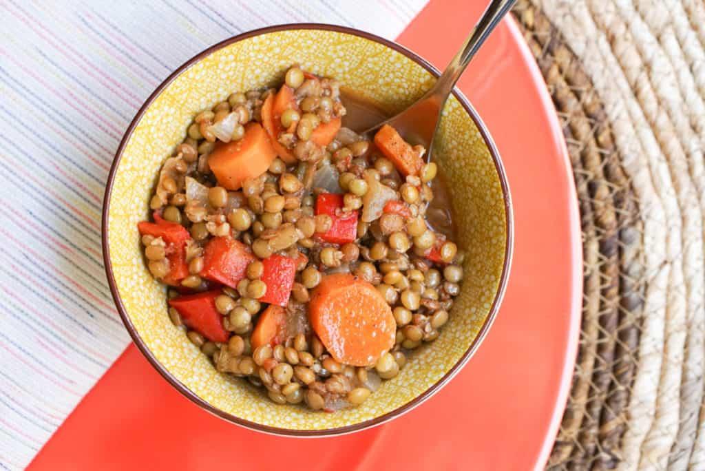 Moroccan lentil recipes
