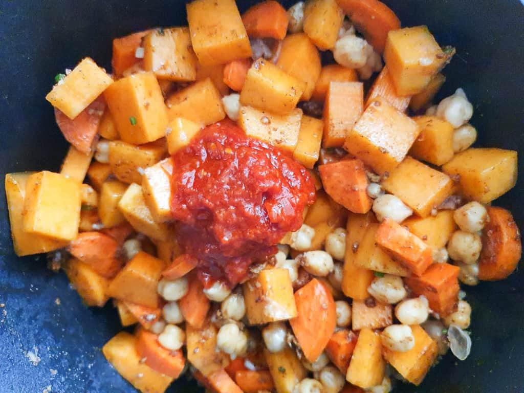 harissa spicy stew