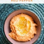 Homemade Hummus With Red Pepper Recipe