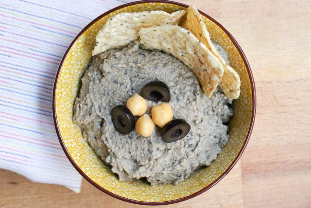 How To Make Hummus With Olives
