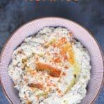 Black Olive Hummus Recipe