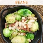 Sauteed Brussel Sprouts Pancetta And White Beans