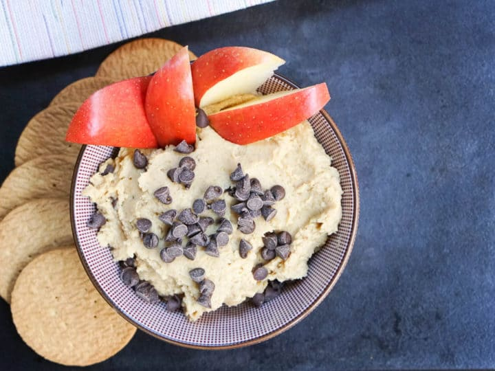Chocolate Chip Cookie Dough Hummus Recipe