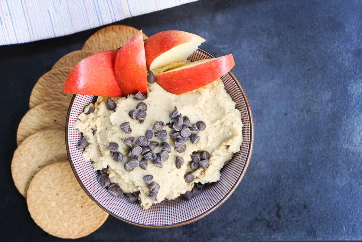 Chocolate Chip Cookie Dough Hummus Recipe