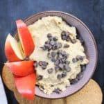 Cookie Dough Hummus Dip