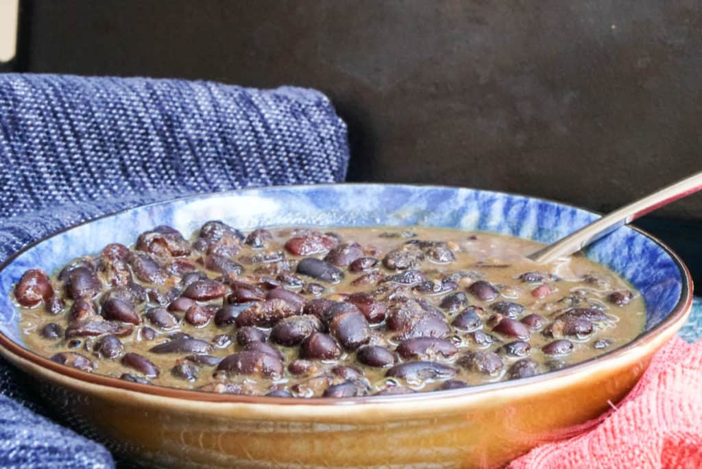 Black bean curry Indian