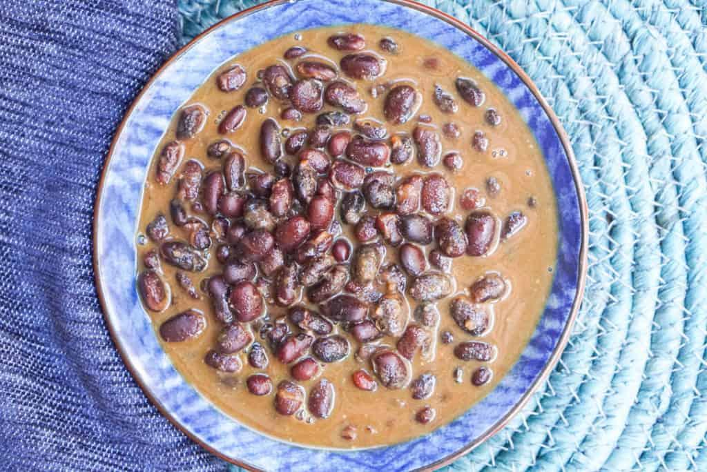 Instant Pot Indian Black Bean Curry Recipe
