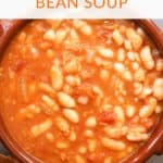 Vegetarian Spanish White Beans Stew