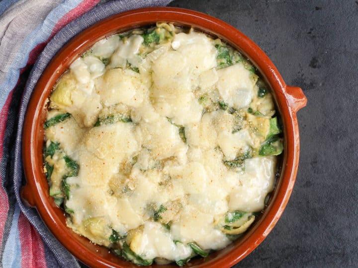 Spinach And Artichoke White Bean Dip Recipe