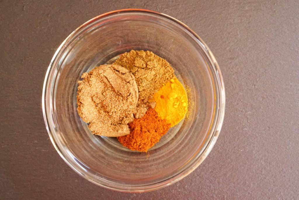 Spices for chana masala