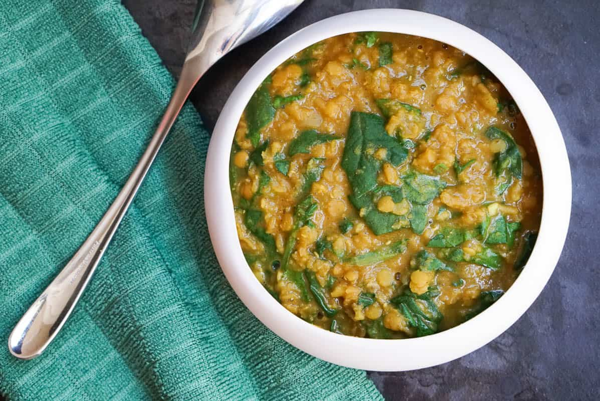 Spinach Dal Curry Recipe