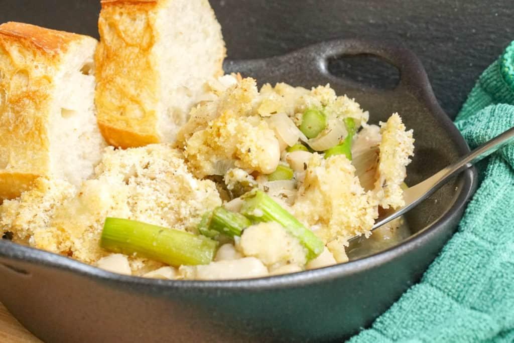 Vegetarian bean cassoulet