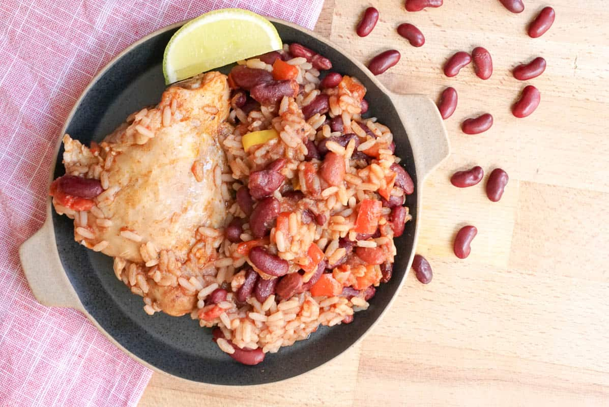 Chicken With Red Kidney Beans - Cowboy Stew