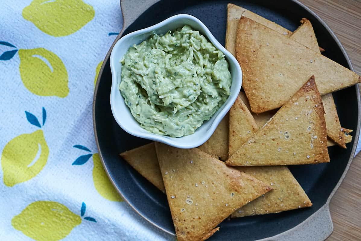 Vegan Chickpea Chips Recipe