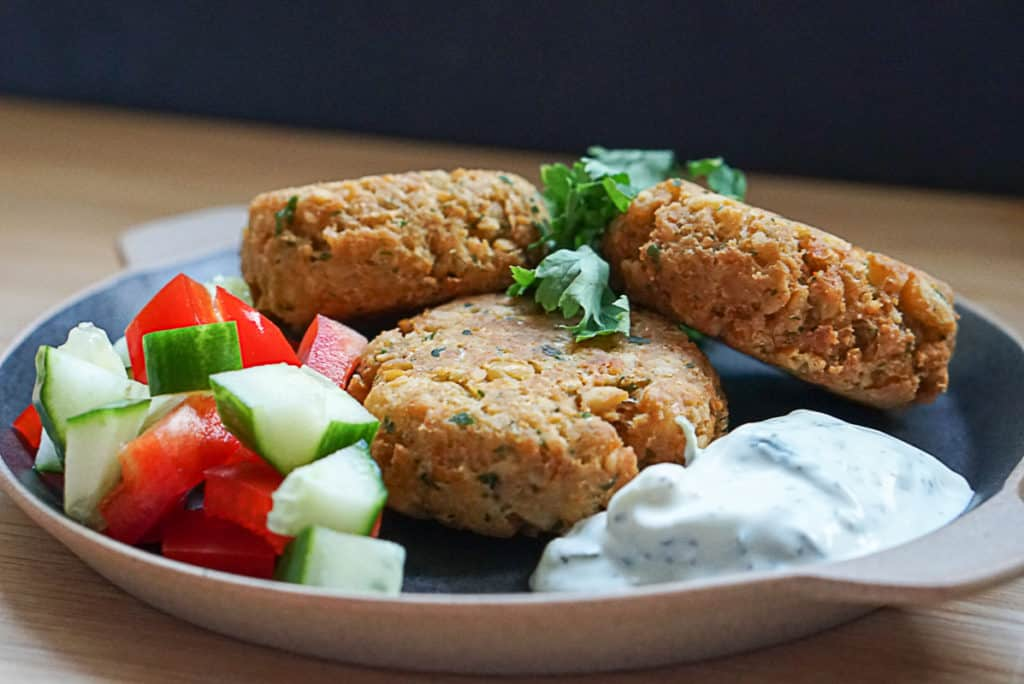 vegetarian chickpea patties recipe
