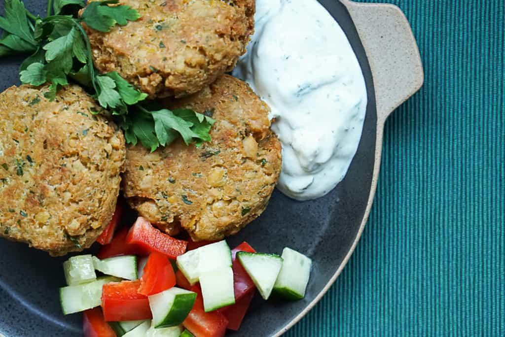 Vegetarian Chickpea Patties Recipe