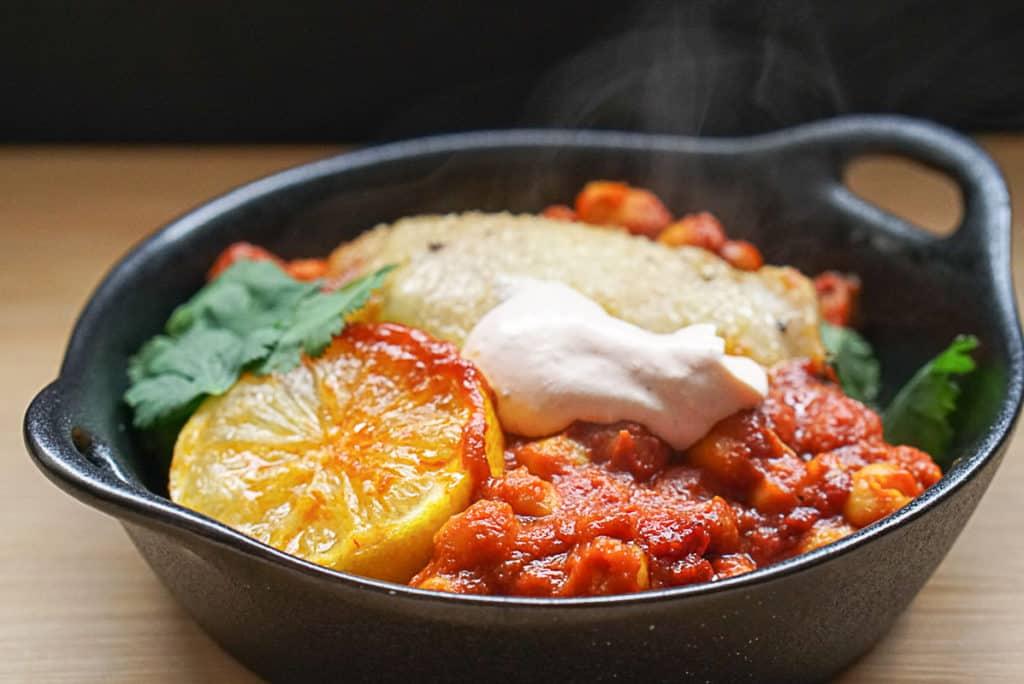 harissa chicken with greek yogurt
