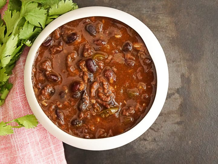 Instant Pot Black Bean Chili