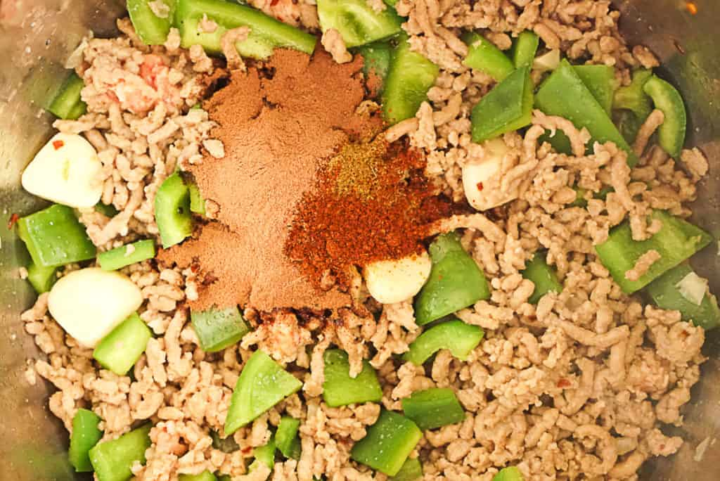 Seasoning for black bean chili