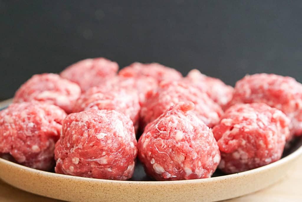 meatballs for Italian wedding soup