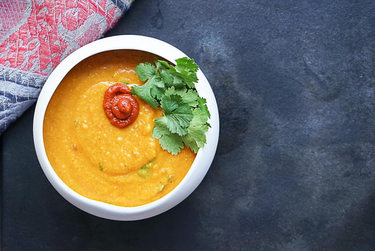 Moroccan Red Lentil Soup