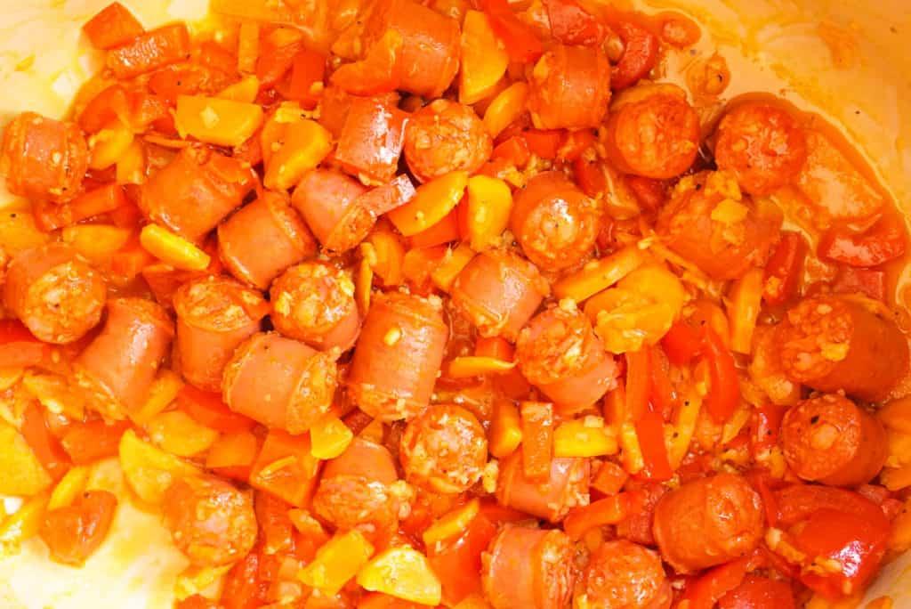 Cooking Spanish Chorizo
