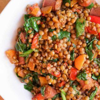Spanish Chorizo And Lentil Stew