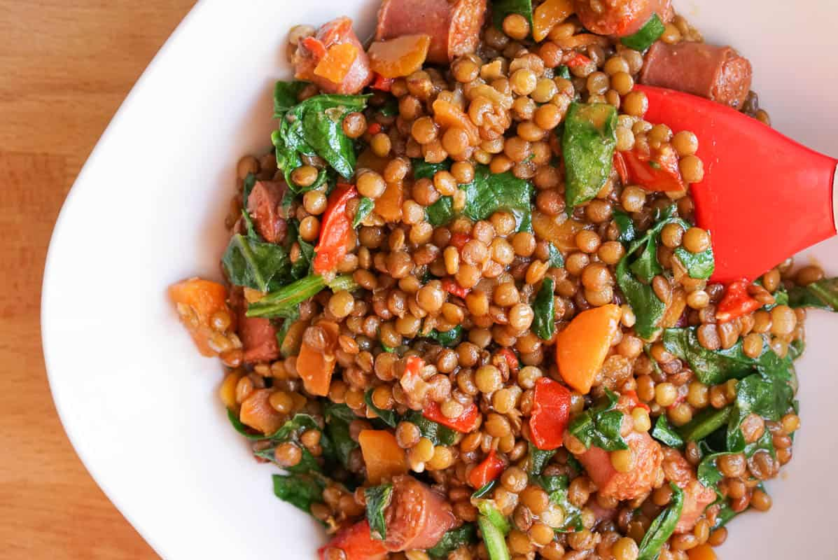 Spanish Chorizo And Lentil Stew