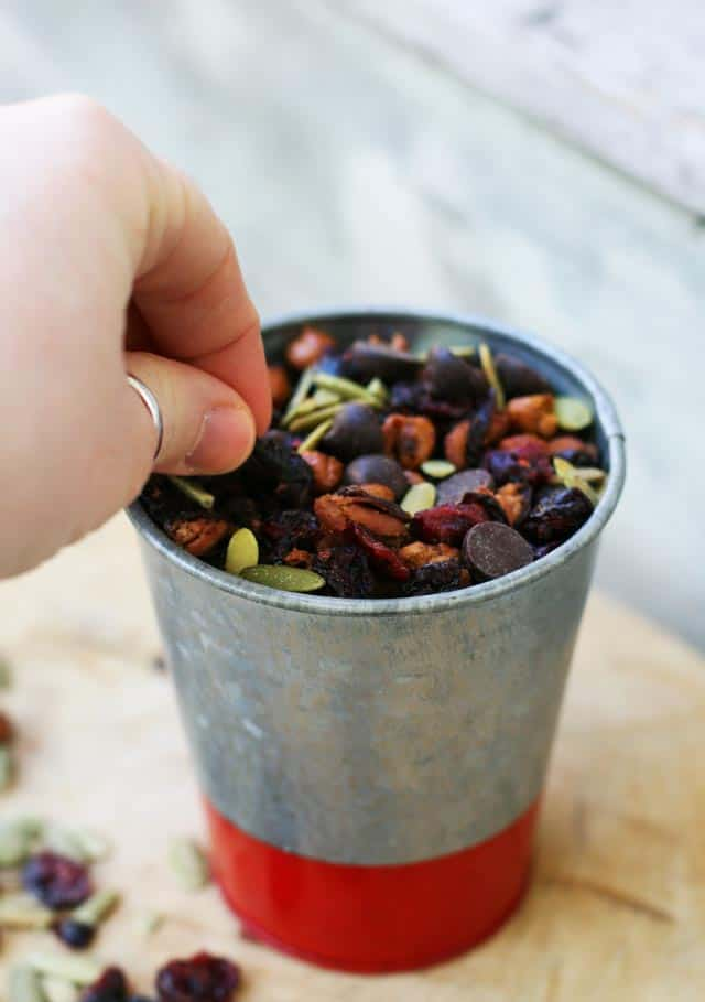 Roasted Bean Trail Mix