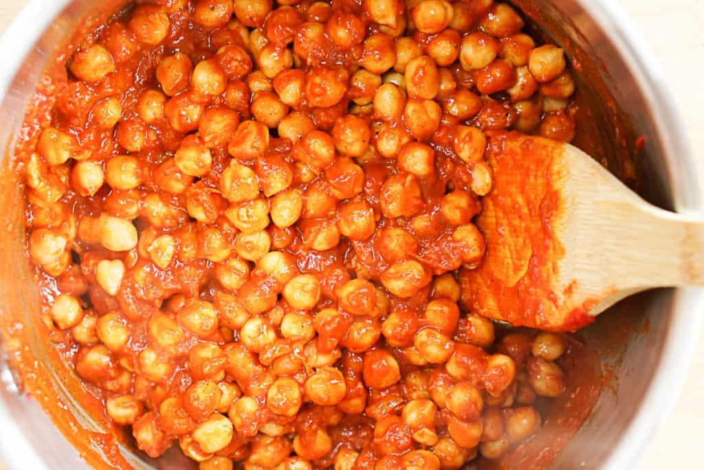 How to make chana masala recipe vegan